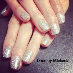 Glitter Gel Nails Beauty Nails, Hair Beauty, Bio Sculpture Nails, Glitter Gel Nails, Perfect Nails, Mani Pedi, Nail Ideas, Jewlery, Skin Care