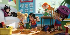 """mauricioabril: """" Will the gang ever find out the truth behind Li'l Wonder…"""