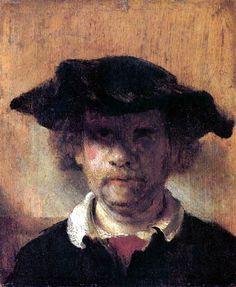 1649 - Carel Fabritius - Portrait of Rembrandt van Rijn