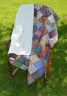 Just finished and listed!   Square One Quilt by BellaBarbaraDesign on Etsy, $275.00