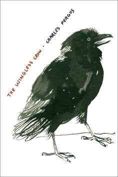 THE WINGLESS CROW | By Charles Fergus | http://www.psupress.org/books/titles/978-0-271-03303-7.html