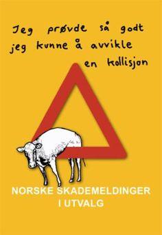 """""""Norske skademeldinger i utvalg - """"jeg prøvde så godt jeg kunne å avvikle en kollisjon"""""""" av Anette Mehl Landmark"""