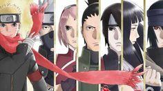 Naruto the Last Movie Kakashi Sakura Shikamaru Sai Hinata Sasuke 3840x2160