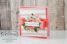 Stampin` Up! -Artisan Design Team Designer paper birthday bouquet-Just great-2