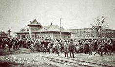 AbileneTexan Photo of the Day: Teddy Roosevelt Visit to Abilene in 1911