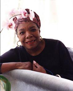 Maya Angelou (1928 - 2014) American author, poet, dancer, actress, and singer.