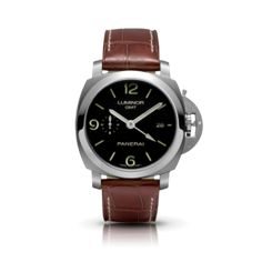 Luxury Panerai Luminor 1950 3 Days GMT Automatic Acciaio 44mm Watch PAM00320