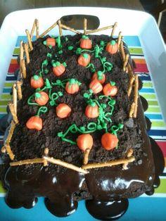 Cake garden pumkins chocolat Garden, Desserts, Tailgate Desserts, Deserts, Lawn And Garden, Gardens, Dessert, Outdoor, Home Landscaping