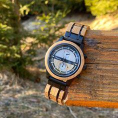 Pivné drevené hodinky – waidzeit.sk Wood Watch, Watches, Accessories, Wooden Clock, Wristwatches, Clocks, Jewelry Accessories