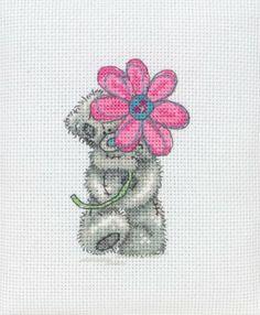 Amazon.com - Anchor Daisy For You Tatty Teddy Kit - Arts Crafts