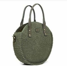 For most ladies, buying a genuine designer bag is not really something to hurry into. Because these handbags can be so expensive, women sometimes worry over their selections before making an actual ladies handbag acquisition. (Re:Womens Barrel Bag.Tussa E Crochet Tote, Crochet Handbags, Crochet Purses, Barrel Bag, Round Bag, Cheap Bags, Knitted Bags, Crochet Accessories, Handmade Bags