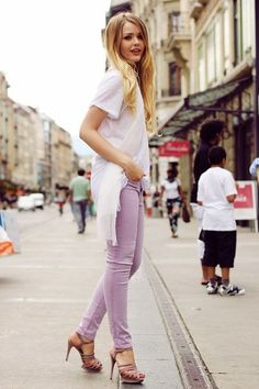 16 Girlish And Romantic Lavender Outfits For Work | Styleoholic