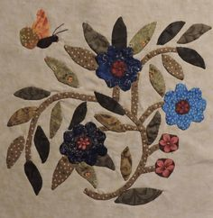 Block from Mom's Caswell Quilt 2014-2015