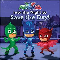 Go into the night to save the day with Catboy, Owlette, and Gekko in this storybook based on PJ Masks, the hit preschool series airing on Disney Junior!It's a Cat-astrophe! When Romeo kidnaps Amaya and Greg and steals their pajamas, it's up to. Los Pj Masks, Twice K Pop, Pj Masks Printable, Robot, Personalized Birthday Banners, Superhero Series, Serpentina, Kids Background, Childhood