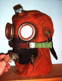 Rare Soviet submarine escape rebreather hood gas by Fallout6Bazaar