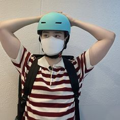 Bicycle Helmet, Riding Helmets, Korea, Hats, Lee Daehwi, Twitter, Fashion, Boyfriends, Bebe