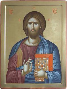 Christ Pantocrator, Byzantine Icons, Orthodox Christianity, Prayer Room, Jesus Pictures, Son Of God, Orthodox Icons, Religious Art, Holy Spirit