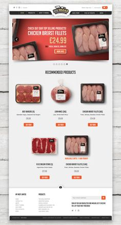 MyMeat branding and logo design, created by GENI Design. MyMeat is a UK, discount, fresh meat supplier. See full project at:  http://www.geni-design.com/portfolio/mymeat-website/