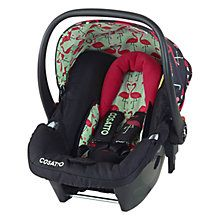Cosatto Giggle Hold Group 0+ Baby Car Seat, Flamingo Fling http://www.parentideal.co.uk/john-lewis--baby-car-seats.html