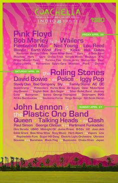 Coachella Poster Design