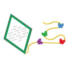 Create a diamante poem and then turn it into a kite for a spring theme!  :)
