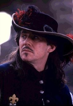 """D'Artagnan """" But if we must die - if WE must die - let it be like this""""-- The Man in the Iron Mask Gabriel Byrne, The Three Musketeers, A Writer's Life, Masked Man, Hollywood, Romantic Movies, Period Dramas, I Movie, Movie Stars"""