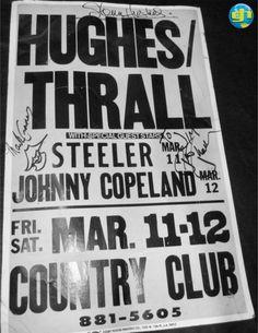 Hughes/Thrall ~ Rissmiller's ~ Reseda, California 1983.