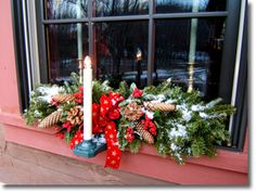 electric outdoor window candles Window Candles, Christmas Wreaths, Electric, Windows, Table Decorations, Holiday Decor, Outdoor, Home Decor, Outdoors