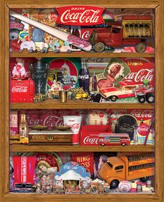 Coca-Cola A Collection (1500 pieces) by Springbok on sale for $16.95.