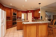 colonial interior design OAK TRIM - Google Search Decor, Interior, Colonial, Colonial Revival, Oak Trim, Home Decor, Sink In Island, Kitchen, Interior Design
