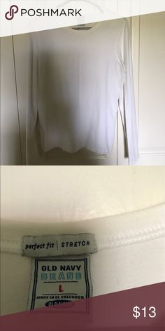 Perfect fit white sweater Used but in good condition, when bundle Old Navy Sweaters Crew & Scoop Necks