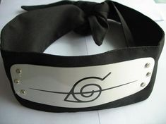 """Naruto Cosplay is one of the most popular cosplay ideas for many years,you can see all the animes in naruto at many cosplay conventions or animes parties. So """"How to make naruto cosplay& Genderbent Cosplay, Naruto Cosplay, Kakashi, Black Headband, Diy Headband, Ultimate Naruto, Temari Cosplay, Naruto Headband, Naruto Birthday"""