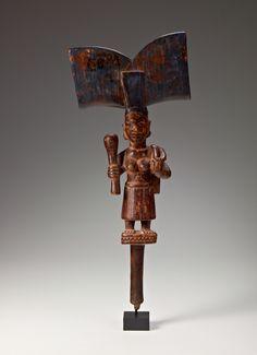 Yoruba Ose Sango (Shango Staff), Nigeria http://www.imodara.com/item/nigeria-yoruba-ose-sango-sango-staff/