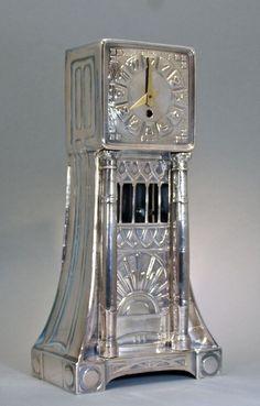 Jugendstil Pendel Uhr att. Albin Müller in | eBay 2000eur
