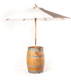 Wine Barrel Umbrella