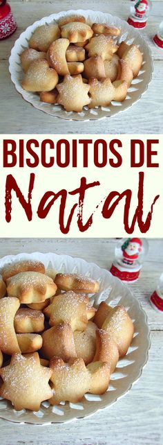 Want to make something simple for Christmas? Easy and simple, these biscuits are perfect for serving on Christmas Day. Christmas Biscuits, Christmas Cookies, Merry Christmas, Tasty, Yummy Food, Portuguese Recipes, Portuguese Food, Biscuit Recipe, Cookie Recipes