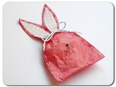 Your child will love making this adorable tissue paper bunny. It's hand-sewn with a simple running stitch and stuffed with …