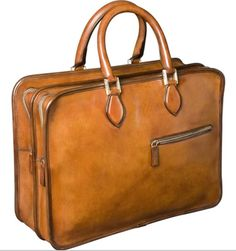 Berluti Deux Jours bag - Retro to Go Leather Men, Brown Leather, Leather Bags, A Bathing Ape, Tote Pattern, Leather Briefcase, Classic Leather, Beautiful Bags, Bag Accessories