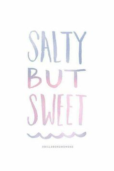Yeah (• ̮~) i'm a salty but sweet GaL!!!