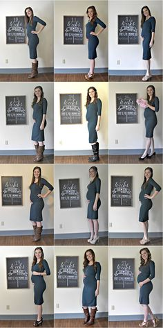 daa9f84d23 Same outfit pregnancy progression photos  pregnancyphotos  photoideas   pregnancy  40weeks Baby Bump Chalkboard