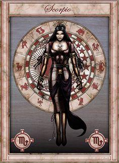 Zodiac signs (Scorpio)