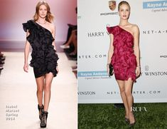 Rosie Huntington-Whiteley In Isabel Marant - 2nd Annual Baby2Baby Gala