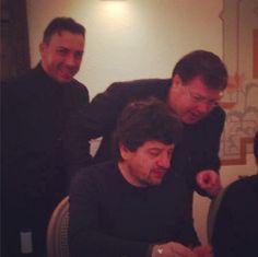 """Secondo voi...chi è il """"vip"""" in questa foto: Fabio de Luigi o Mario De Napoli? :D"""