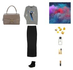 """We like dancing and we look divine"" by jabbots ❤ liked on Polyvore featuring Markus Lupfer, L'Agence, Louis Vuitton, Opening Ceremony, Yves Saint Laurent, Chanel, 1OAKbySara, wedge boots, bowie and opening ceremony"