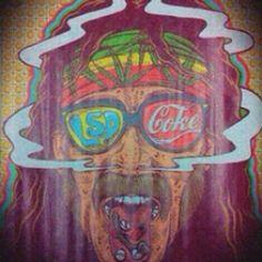 lsd, drugs, and coke image Psychedelic Art, Steam Punk, William S Burroughs, Trippy Pictures, Grunge, Acid Art, Stoner Art, Estilo Hippie, Psy Art