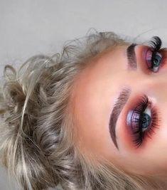 Gorgeous Makeup: Tips and Tricks With Eye Makeup and Eyeshadow – Makeup Design Ideas Glam Makeup, Cute Makeup, Gorgeous Makeup, Skin Makeup, Makeup Inspo, Makeup Inspiration, Beauty Makeup, Makeup Ideas, Makeup Kit