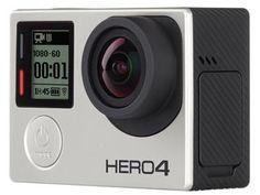 """Câmera Filmadora GoPro Hero4 Silver Edition 12MP - Visor 1,5"""" Touch Filma Full HD 4k Wi-Fi com as melhores condições você encontra no Magazine Siarra. Confira!"""