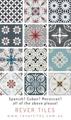 Seeking a different form of surface that is unique, yet timeless? A family busin. Seeking a different form of surface that is unique, yet timeless? A family busin… Seeking a diff Moroccan Tiles, Moroccan Decor, Moroccan Kitchen, Moroccan Garden, Bohemian Living Rooms, Bohemian Decor, Bathroom Interior Design, Interior Design Living Room, Tile Crafts