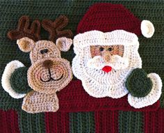 Best Free Crochet » Santa Pillow Crochet Along – Finished Pattern!!!