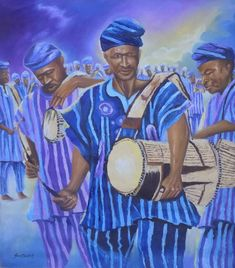Original Culture Painting by Smith Olaoluwa African Drawings, African Paintings, African Art Projects, Mocha, Original Paintings, Original Art, African American Artist, Art Pages, Art Music